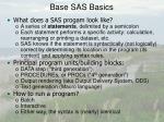 base sas basics