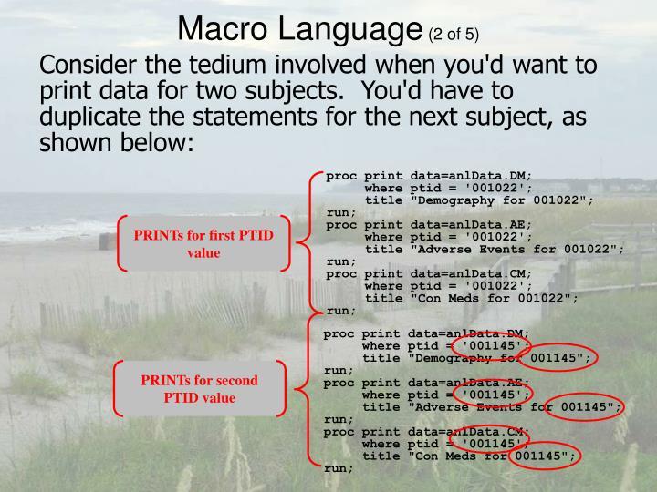 proc print data=anlData.DM;