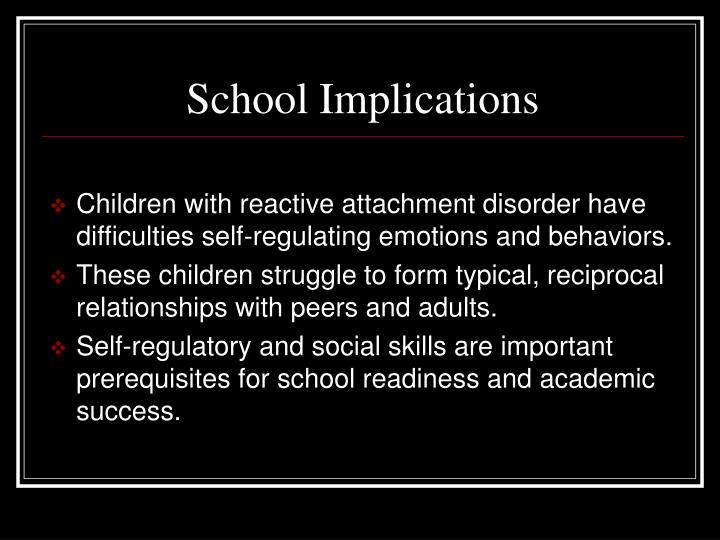 School Implications