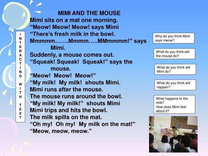 MIMI AND THE MOUSE
