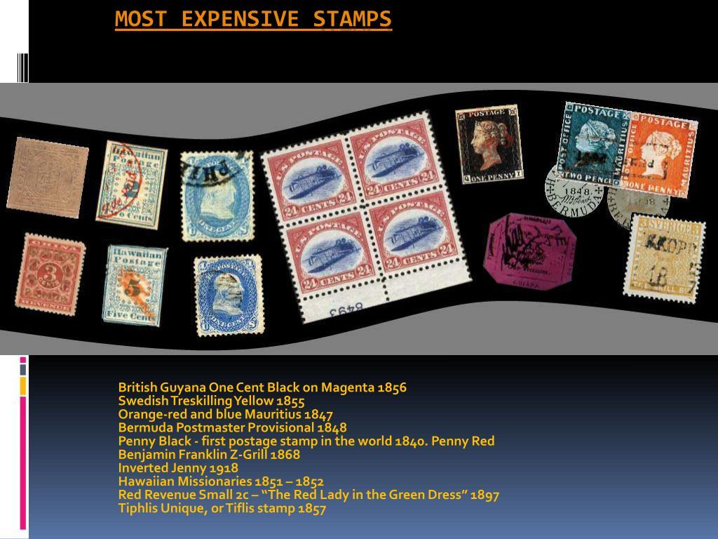 British Guyana One Cent Black on Magenta 1856