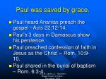 paul was saved by grace1
