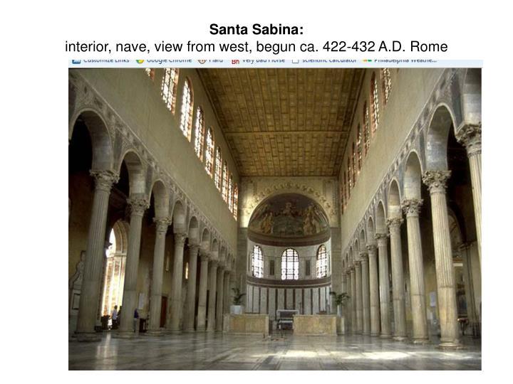 Santa Sabina:
