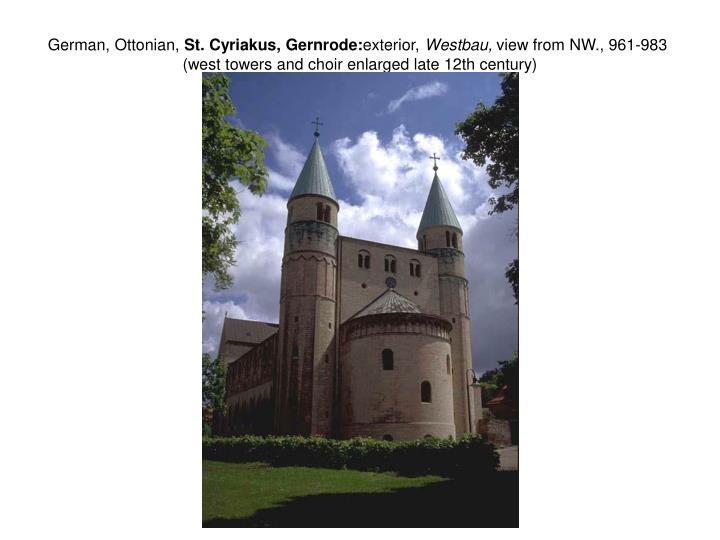 German, Ottonian,