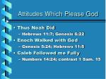attitudes which please god3
