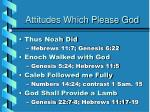 attitudes which please god4