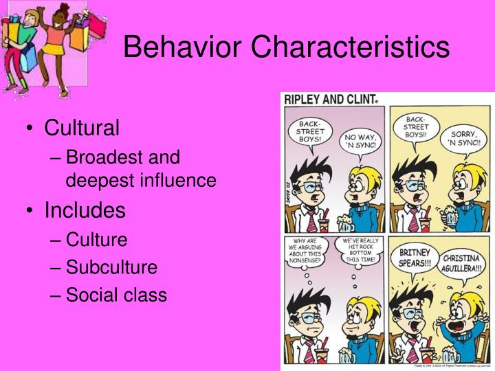 Behavior Characteristics