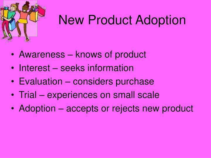 New Product Adoption