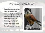 physiological trade offs11
