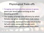 physiological trade offs14
