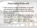 physiological trade offs6