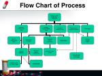 flow chart of process