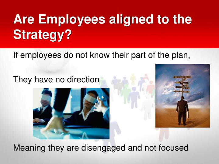 Are Employees aligned to the Strategy?