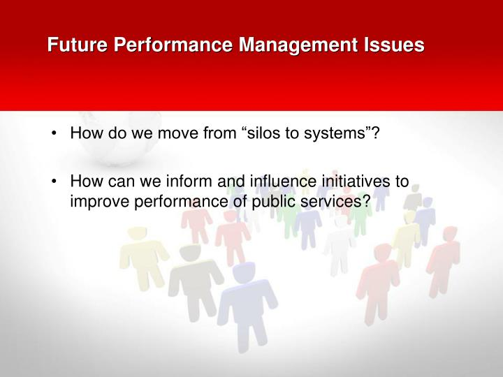 Future Performance Management Issues