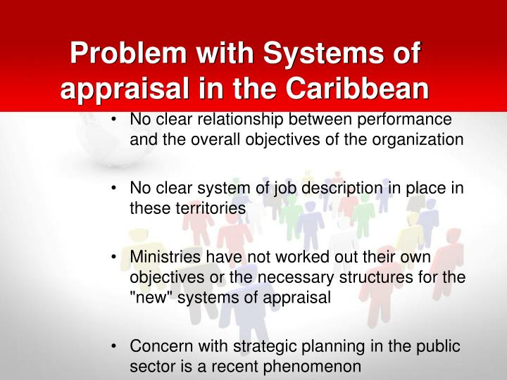 Problem with Systems of appraisal in the Caribbean