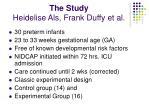 the study heidelise als frank duffy et al