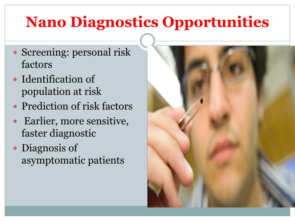 Nano Diagnostics Opportunities