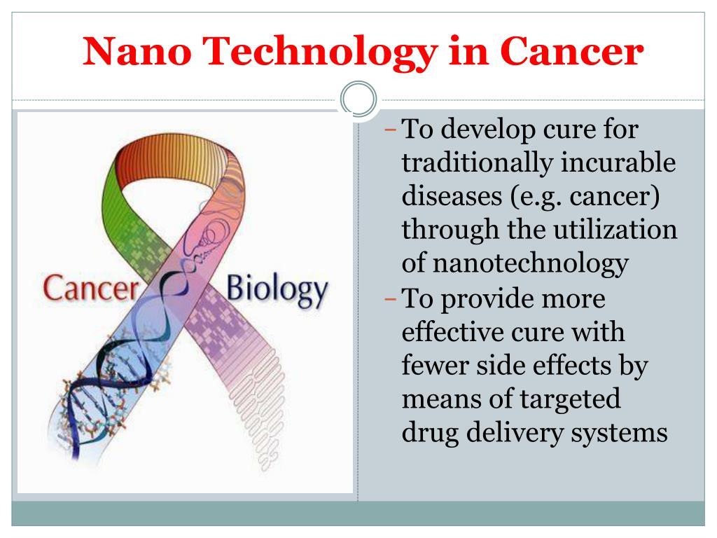 Nano Technology in Cancer