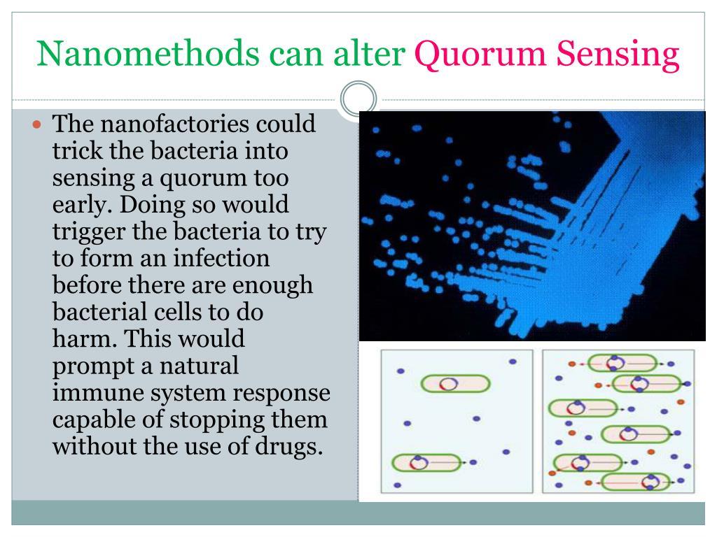 Nanomethods can alter