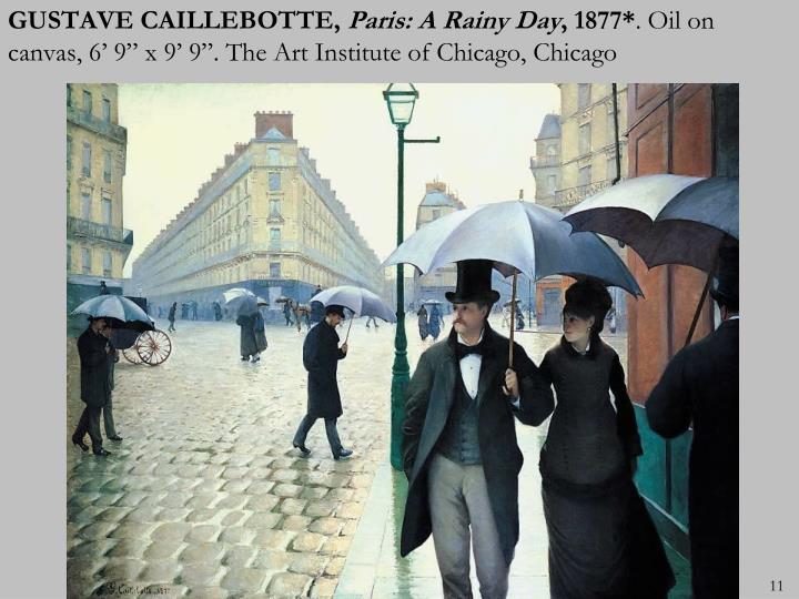 GUSTAVE CAILLEBOTTE,