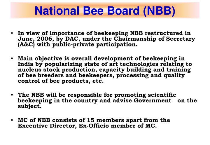 National Bee Board (NBB)