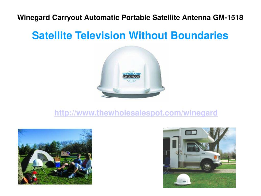 Winegard Carryout Automatic Portable Satellite Antenna GM-1518