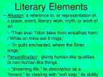 literary elements1