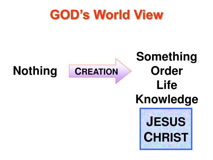 GOD's World View