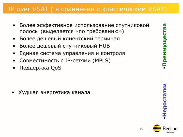 IP over VSAT