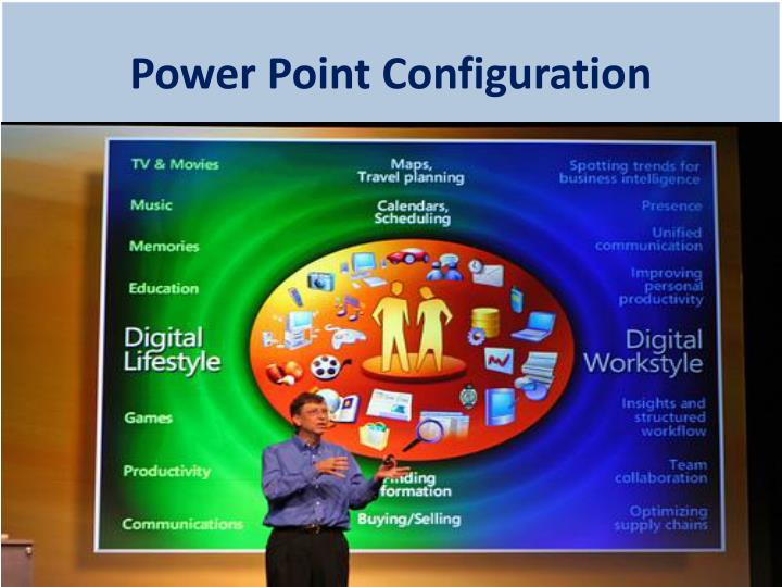 Power Point Configuration