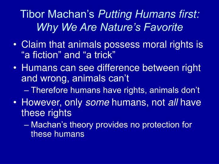 Tibor Machan's