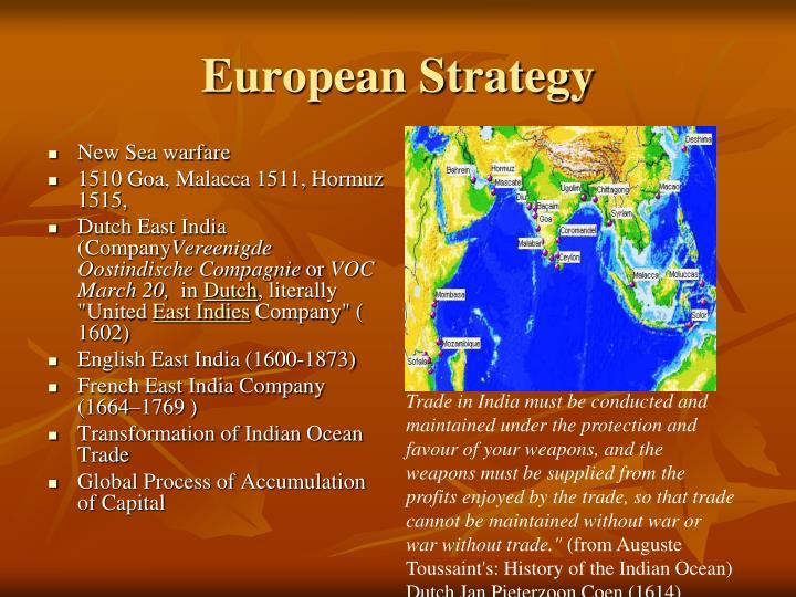 European Strategy