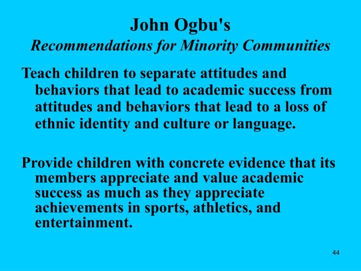 John Ogbu's