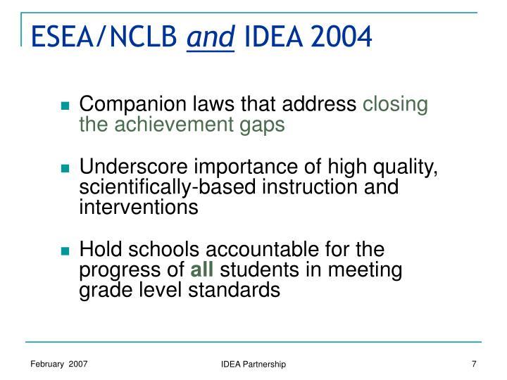 ESEA/NCLB