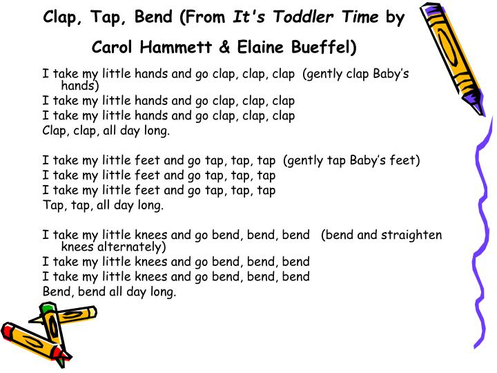 Clap, Tap, Bend (From