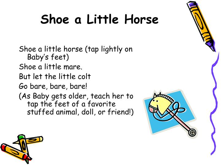 Shoe a Little Horse