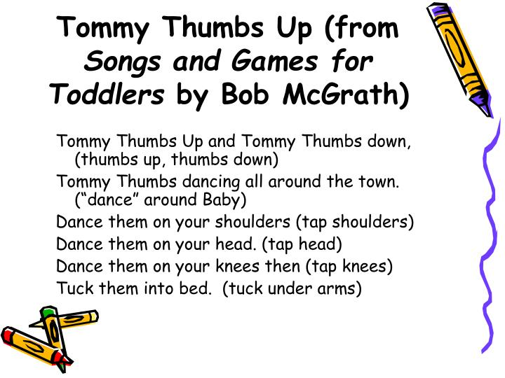 Tommy Thumbs Up (from