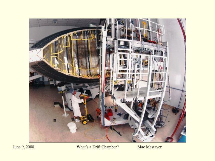 What's a Drift Chamber?                  Mac Mestayer