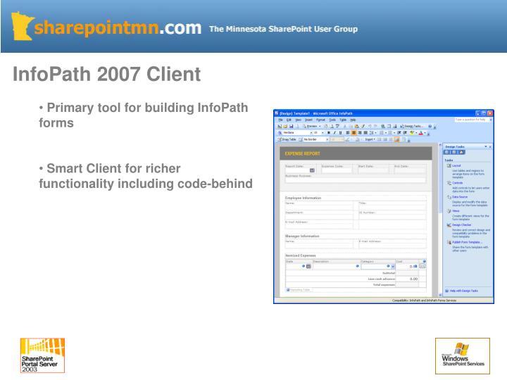 InfoPath 2007 Client