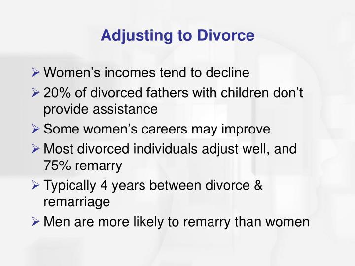 Adjusting to Divorce