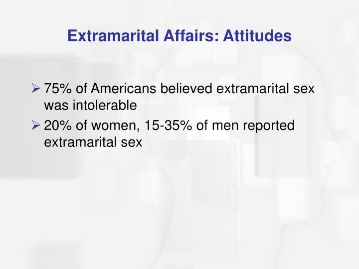 Extramarital Affairs: Attitudes
