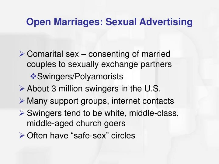 Open Marriages: Sexual Advertising
