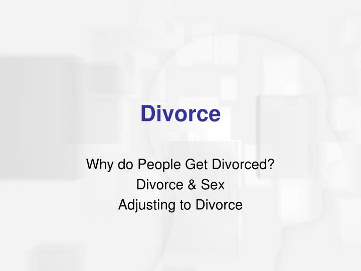 Why do People Get Divorced?