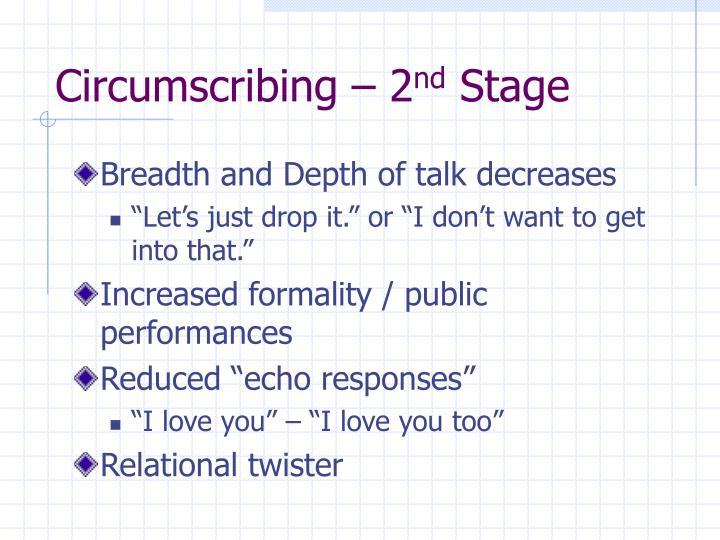 Circumscribing – 2