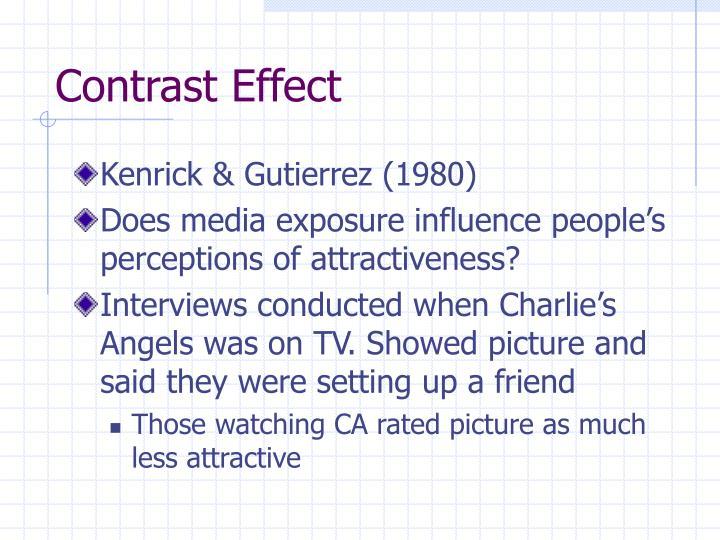 Contrast Effect