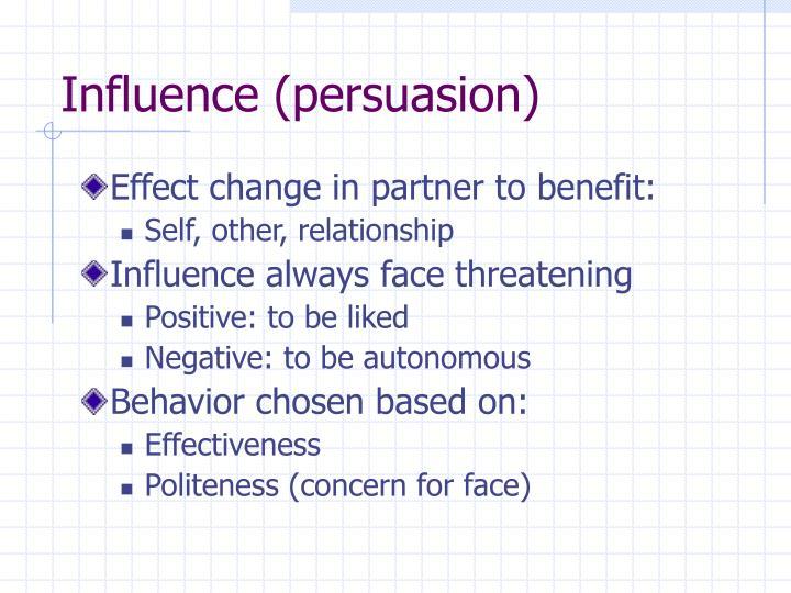 Influence (persuasion)
