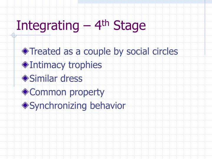 Integrating – 4