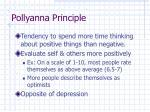 pollyanna principle