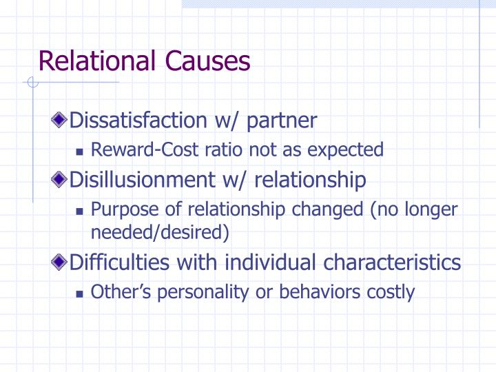 Relational Causes