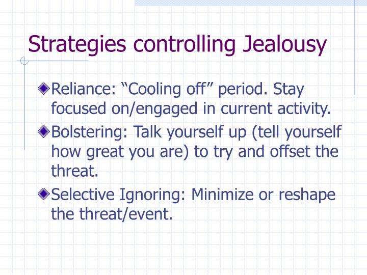 Strategies controlling Jealousy